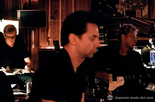depeCHe MODE in the Studio 2008