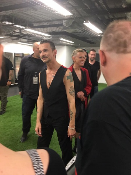 depeCHe MODE - Dave Gahan & Martin Lee Gore - Meet & Greet - Budapest - 2017